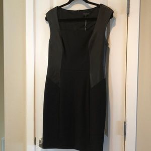 Rag & Bone NEW Leather Trim Dress